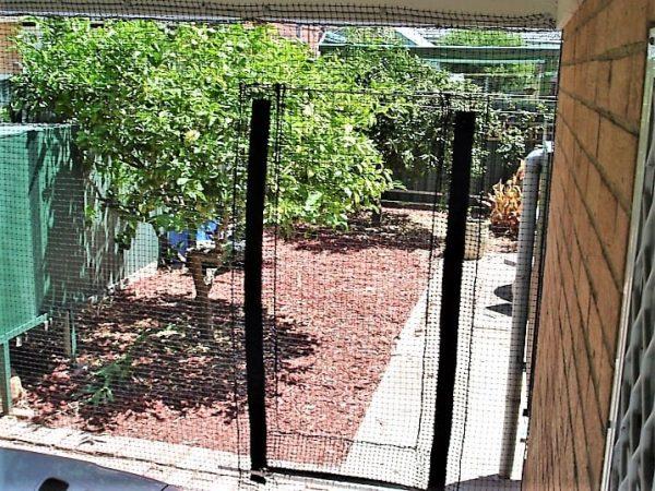 Cat Netting Door 02187