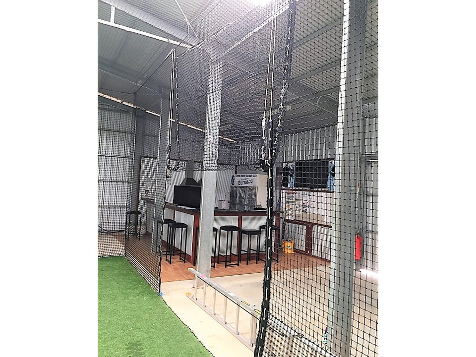 Netting with zipper for sports Quin Sports & Nets