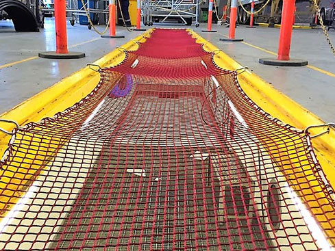 Safety and construction netting Quin Sports & Nets