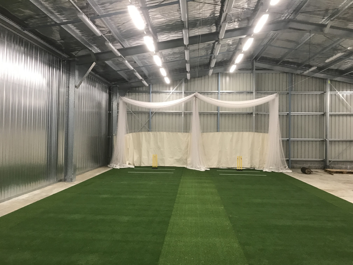 Expandable cricket netting Quin Sports & Nets