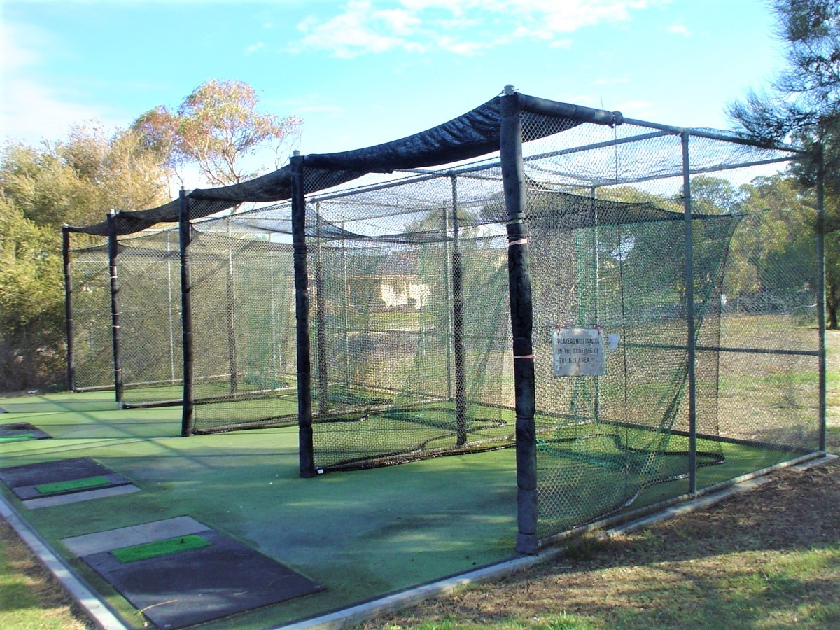 Golf netting for practise outdoors Quin Sports & Nets