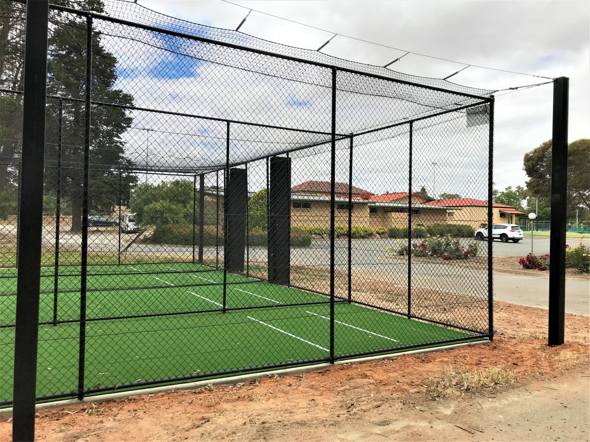 hard wire cricket netting Quin Sports & Nets