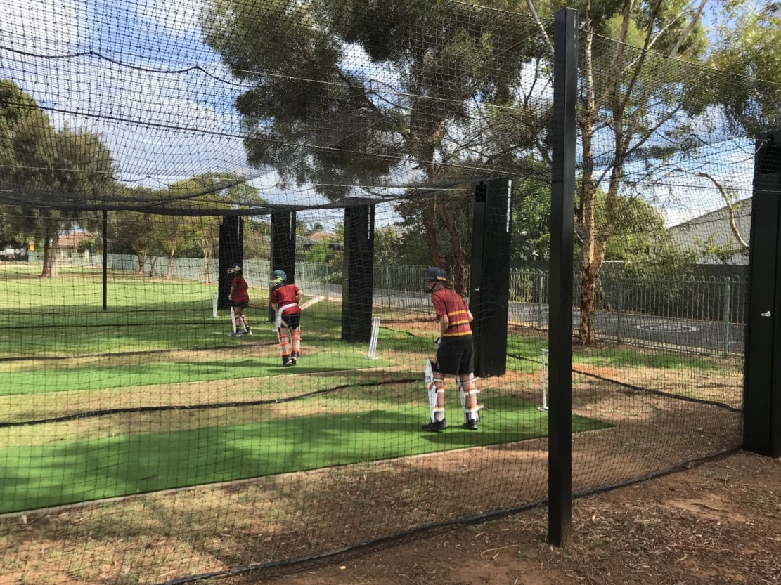 Outdoor cricket netting Quin Sports & Nets