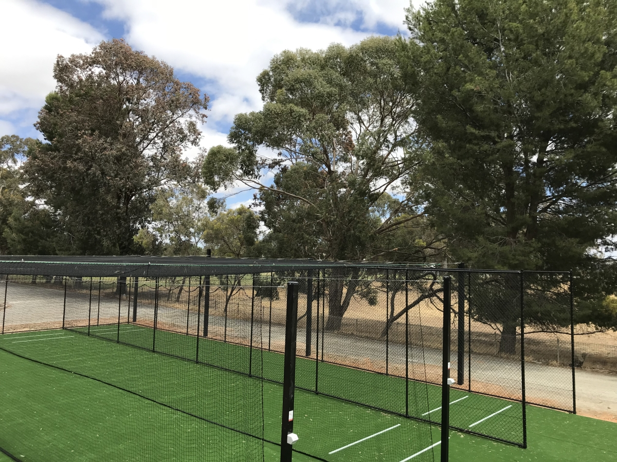 Outdoor cricket netting manufacturing Quin Sports & Nets