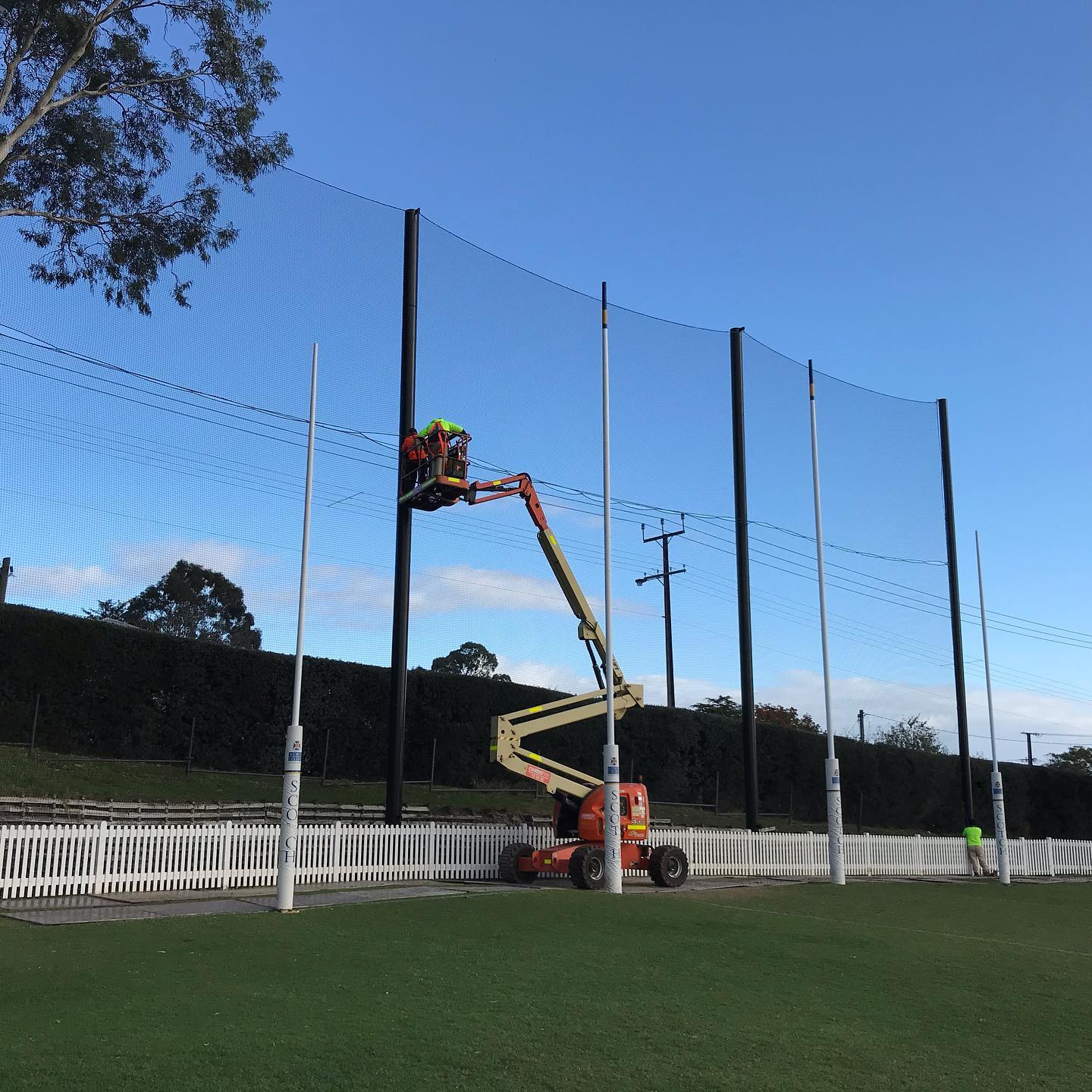 Football Boundary Netting by Quin Sports and Nets