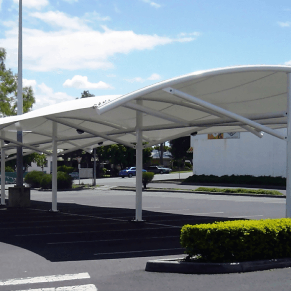 Car park shade by Quin Sports and Nets