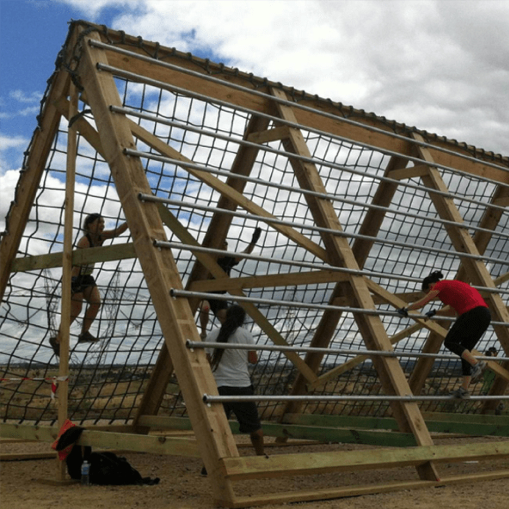 obstacle course ropes & netting by Quin Sports and Nets