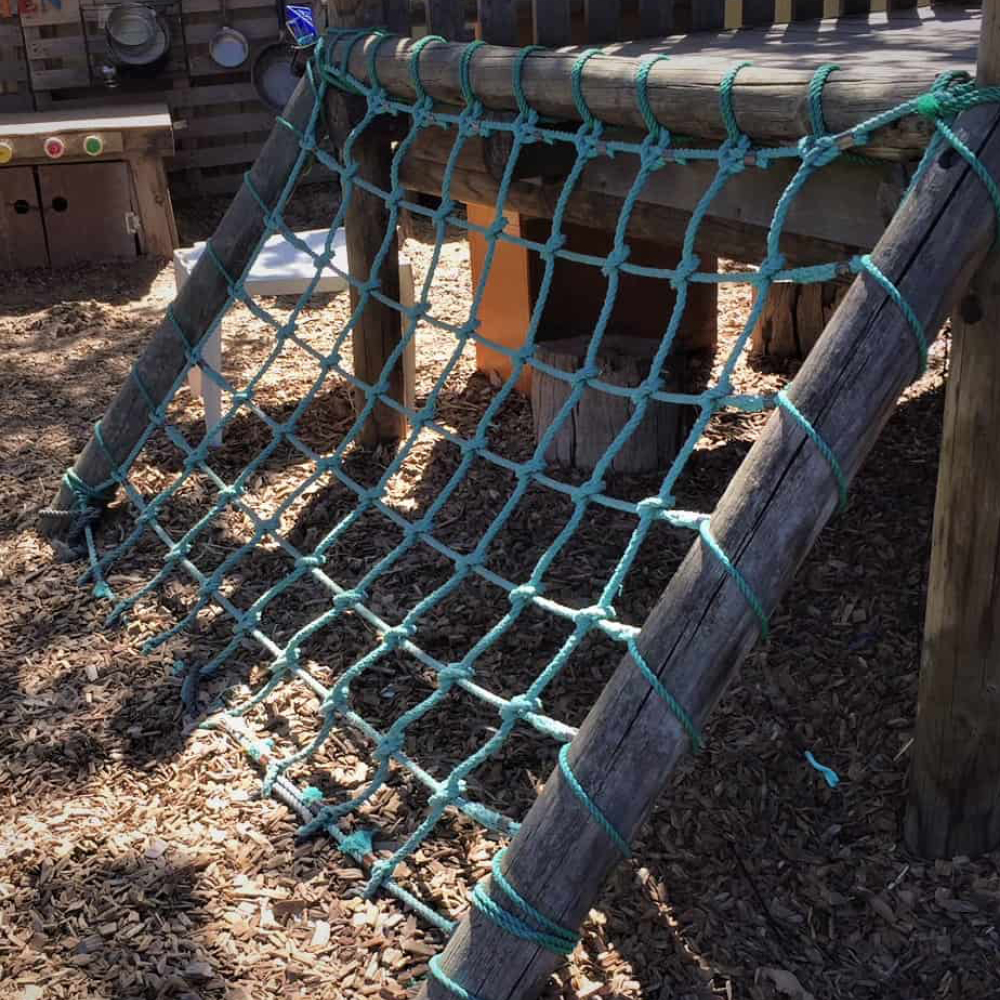 playground ropes & netting by Quin Sports and Nets