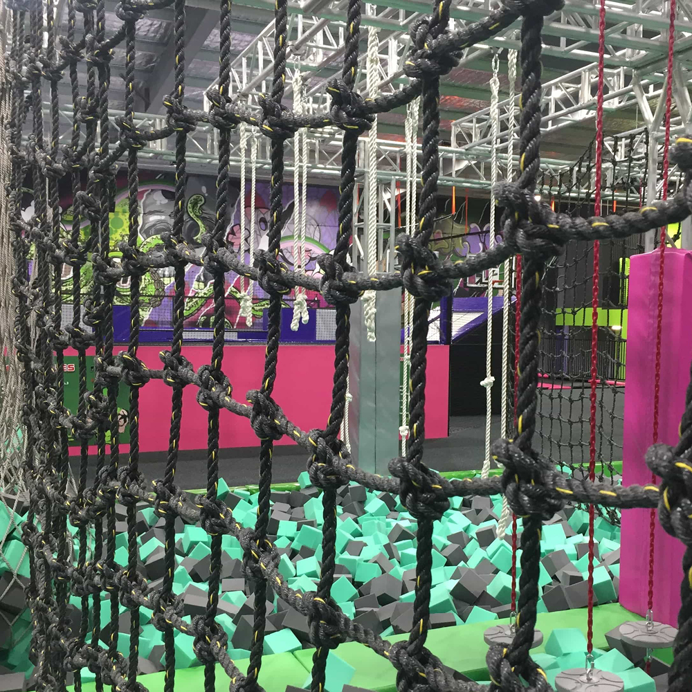 climbing ropes & netting by Quin Sports and Nets