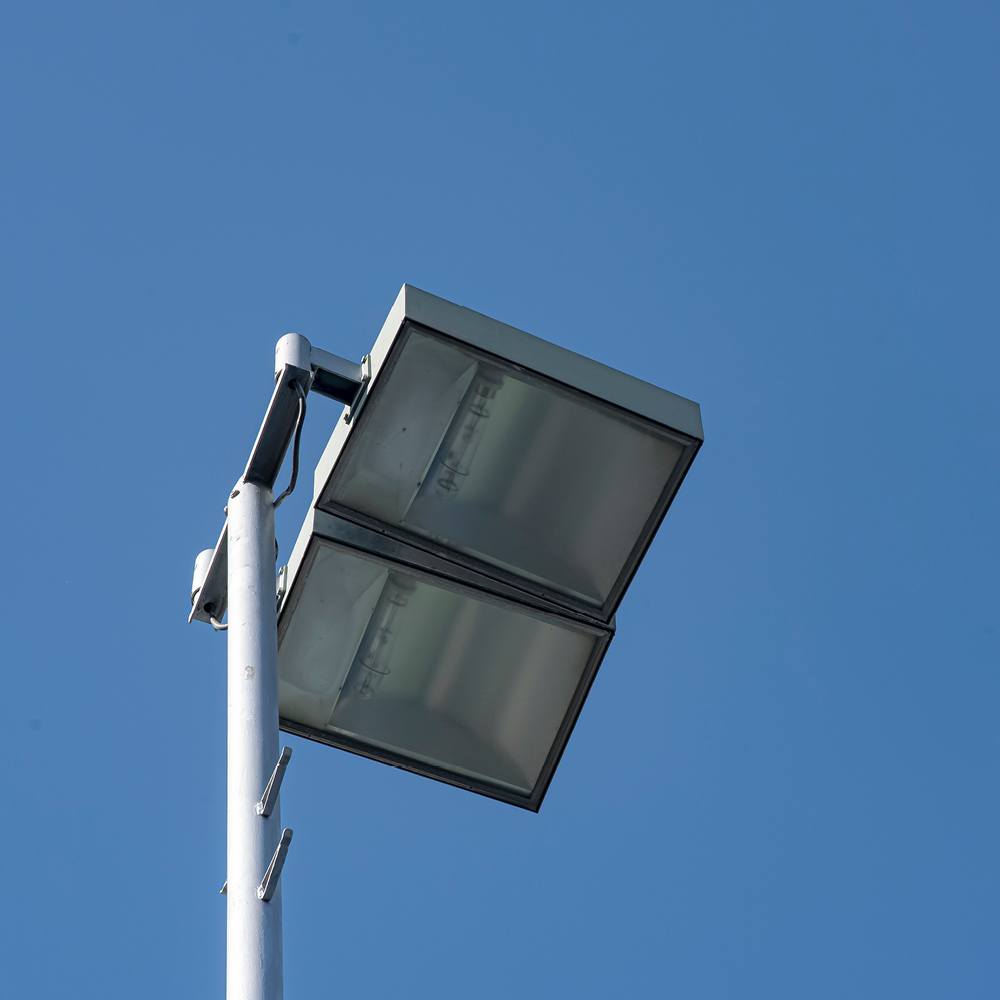 Light posts by Quin Sports and Nets