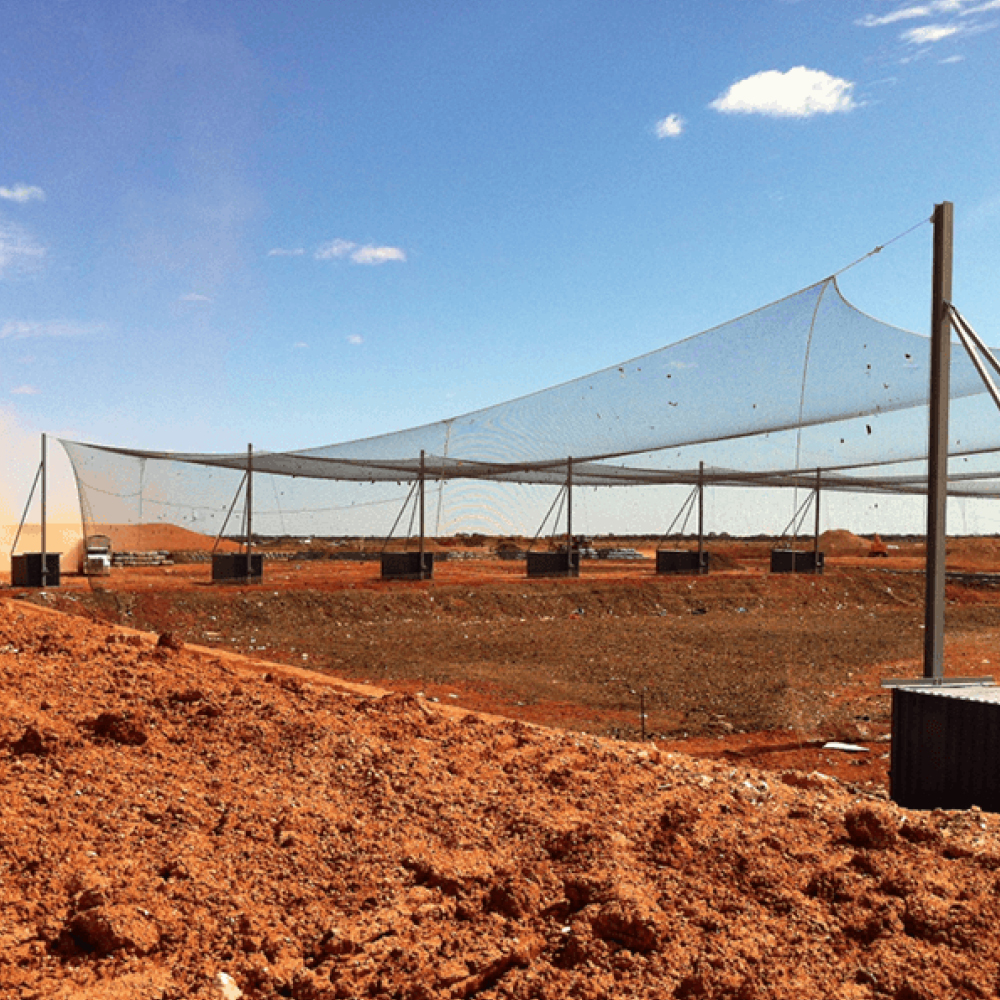 Landfill & anti-litter nets by Quin Sports and Nets