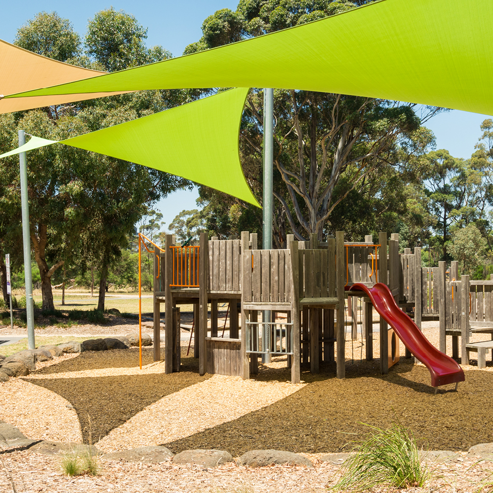 playground shade by Quin Sports and Nets