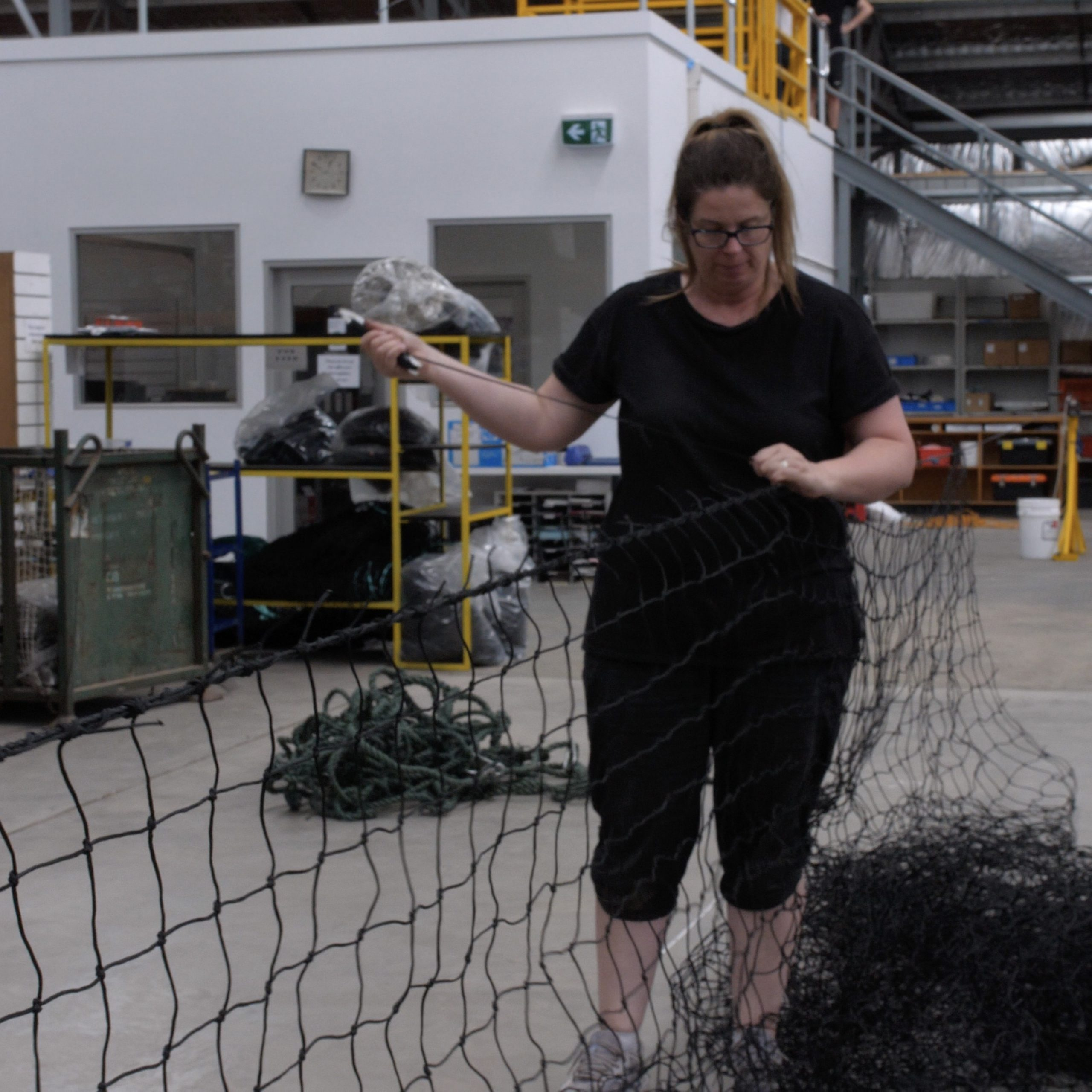 Custom net manufacturing by Quin Sports and Nets